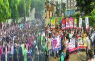 চট্টগ্রামে হুইপ সামশুল হক চৌধুরীর পক্ষে-বিপক্ষে পাল্টাপাল্টি সমাবেশ
