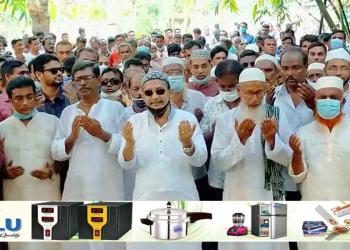 শার্শায় বিএনপির নেতা তৃপ্তির গনসংযোগ